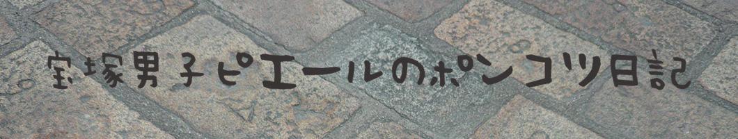 宝塚男子ピエールのポンコツ日記